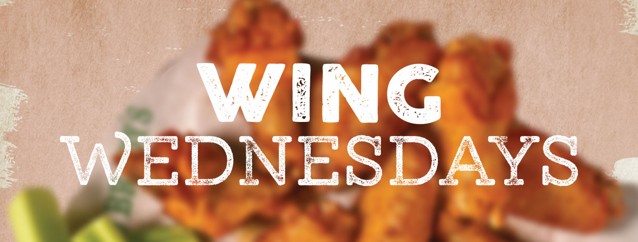 Wednesday Restaurant Specials - Wings at Beef's