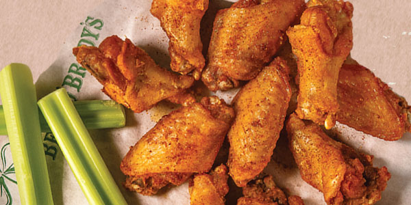 Weekly Wings Specials at Beef 'O' Brady's