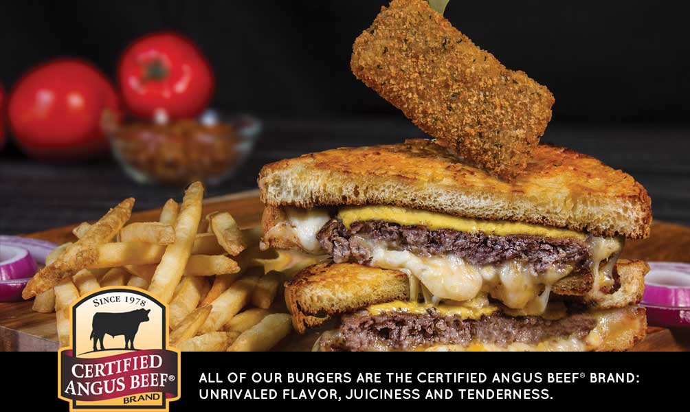 Certified Angus Burgers