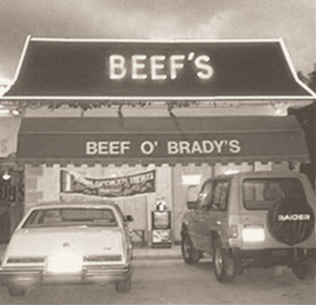 the Original Beef's - a family friendly restaurant since 1985