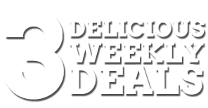 3 Delicious Weekly Meal Deals
