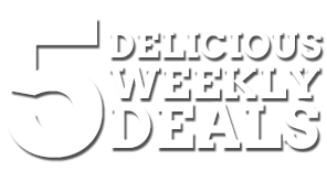 5 Delicious Weekly Meal Deals
