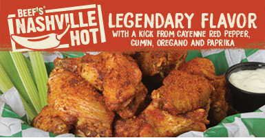 Legendary Nashville Hot Wings