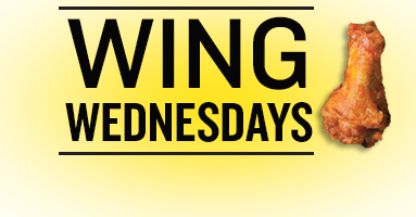 Wednesday Specials for 1/16/2019 - Pizza and Wing Wednesdays