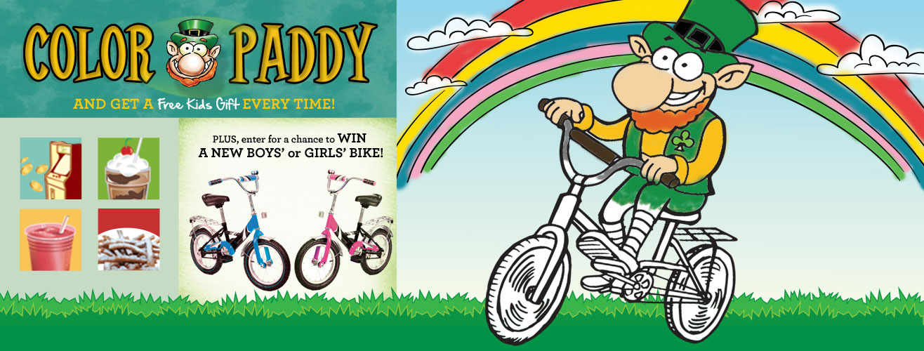 Color Paddy - And get a FREE Kids Gift everytime!