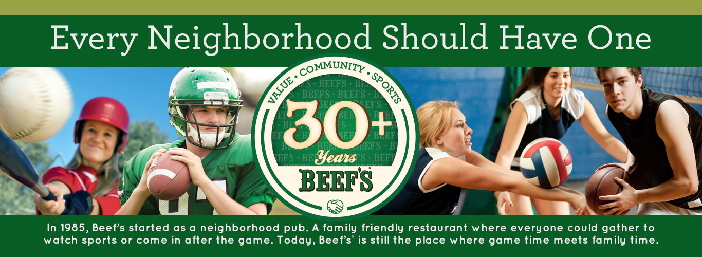 Beef 'O' Brady's Family Style Restaurant - Every Neighborhood Should Have One