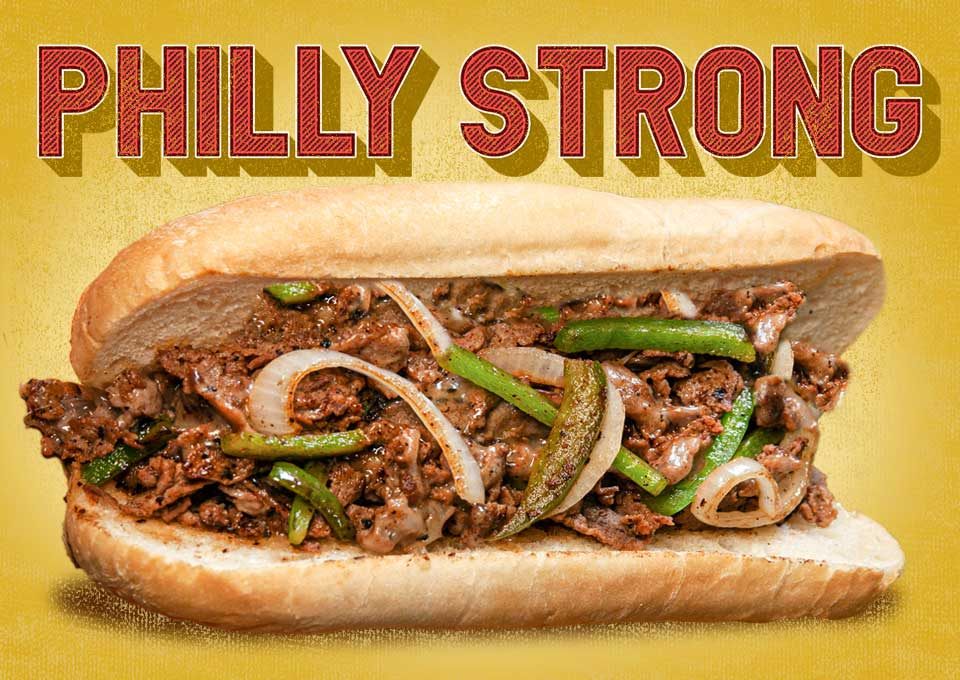 Philly Strong! Philly Sandwich.