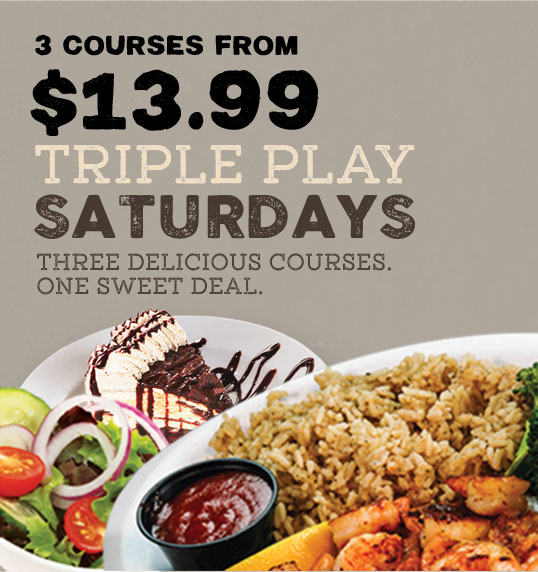 Weekly Saturday Specials at Beef 'O' Brady's