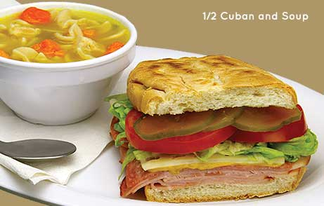 Half Cuban and Soup