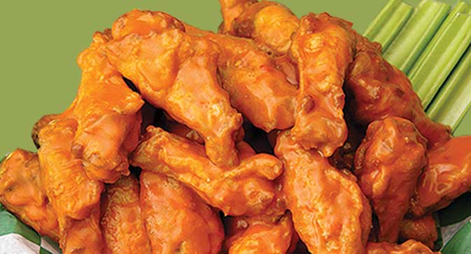 Weekly Friday Wings Specials at Beef 'O' Brady's