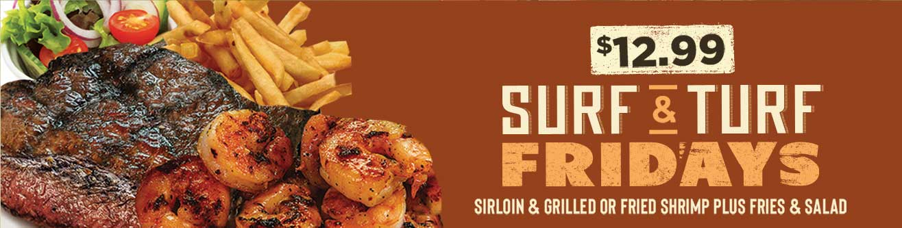 Surf & Turf Fridays